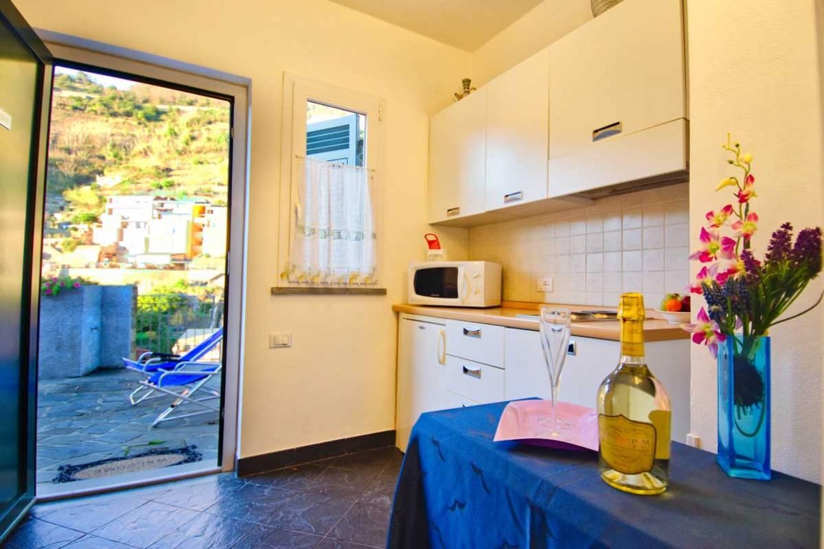 Appartamento con terrazza Cinque Terre Riomaggiore